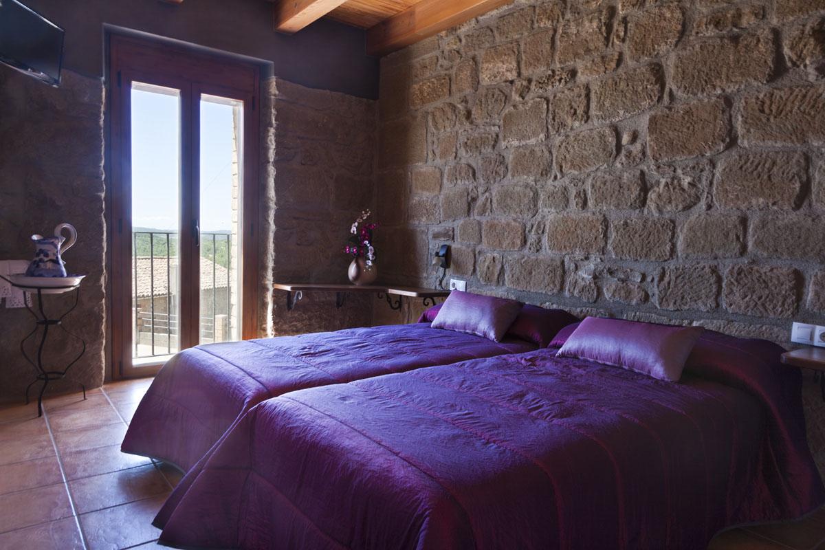habitacio doble dos llits individuals